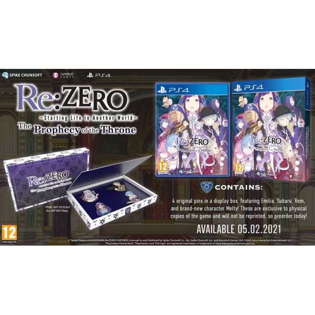 Re:ZERO - Starting Life in Another World: The Prophecy of the Throne DOUBLE COINS