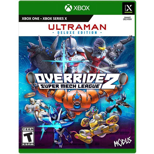 Override 2: Super Mech League [Ultraman Deluxe Edition]