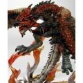 Dynamic Monster Arts Monster Hunter Pre-Painted Statue Fire Dragon