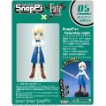 SnapPs Fate/Stay Night Non Scale Pre-Painted PVC Figure: Saber (Casual Wear)