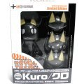 Revoltech Series FS Dokodemoissyo Pre-Painted PVC Figure: Kuro Cat Black Version (Limited Edition)