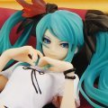 Character Vocal Series 01 1/8 Scale Pre-Painted PVC Figure: Miku Hatsune World is Mine (Natural Frame Version)