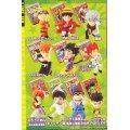 Jump All Stars ! Mascot With Jump Key Chain Candy Toy
