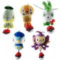 Pokemon Diamond & Pearl Mini Plush Doll: Naetle