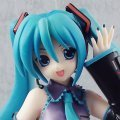 Vocaloid Miku Hatsune Pre-Painted Figure: Miku Hatsune (Blue Colour Version)