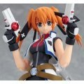 Magical Girl Lyrical Nanoha Striker S Non Scale Pre-Painted PVC Figure: figma Teana Lanster (Barrier Jacket Version)