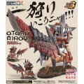 Game Characters Collection - Monster Hunter Portable 3rd Pre-Painted DX PVC Figure: Otomo Airou (Reus Neko Series)