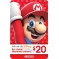 Nintendo eShop Card 20 USD | USA Account digital