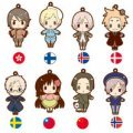 Kotobukiya Hetalia 2 Trading Rubber Strap Collection