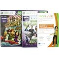 Xbox 360 Arcade Slim Console white (4GB) Kinect Bundle incl. Kinect Adventures & Kinect Sports
