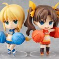 Nendoroid No. 215 Fate/stay Night Cheerful Japan: Saber & Rin Cheerful Ver.