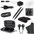 DreamGear 15 in 1 Universal DS Kit - Black