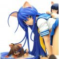 Ikkitosen 1/7 Scale Pre-painted PVC Figure: Kan'u Unchou Nekomimi (Re-run)