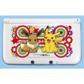 Pocket Monsters Hard Cover for Nintendo 3DS LL (Pikachu & Eievui)
