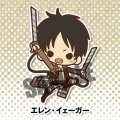 Attack on Titan Rubber Strap Collection (10 Pieces Box Set)