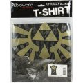 Nintendo The Legend of Zelda - Gold Logo Black Men's Tees (XL)
