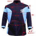 Capcom Biohazard BSAA Long-sleeve T Shirt [Jill Valentine Model / Size: L]