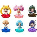Petit Chara Series Sailor Moon: New friends and Make-up! (Set of 6 pieces)