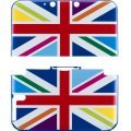 Design Cover for 3DS LL (Union Jack Rainbow)