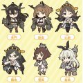 Nendoroid Plus Kantai Collection Trading Rubber Strap: 3rd Fleet (Vol.3) (Set of 6 pieces)