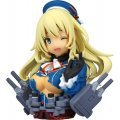 CapsuleQ Fraulein Kantai Collection: Kanmusu Half-Damage Bust Directory (Set of 12 pieces)