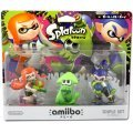 amiibo Splatoon Series Figure Triple Set (Girl / Ika / Boy)