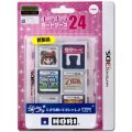 Kirakira Card Case 24 for 3DS (Pink)