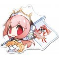 Racing Miku x Super Sonico Big Acrylic Key Ring: Sonico 3