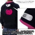 Boruto -Naturo The Movie- Parka Black x Tropical Pink M: Boruto