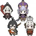 D4 Chaos Dragon Red Dragon Rubber Strap Collection Vol.2 (Set of 8 pieces)