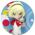 Persona Q Shadow of the Labyrinth Badge: Persona 3 Protagonist & Aigis