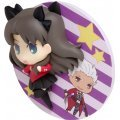 Fate/Stay Night Unlimited Blade Works 2.5 Jigen Badge Series: Tohsaka Rin & Archer