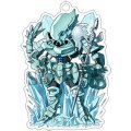 Overlord: The Great Tomb of Nazarick Floor Guardians Acrylic Key Chain (Set of 8 pieces)