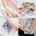 Sailor Moon Botanical Pattern Minimini Pouch: Sailor Chibi Moon & Sailor Saturn & Sailor Pluto