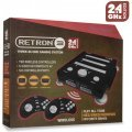 SNES/ Genesis/ NES Hyperkin RetroN 3 Gaming Console 2.4 GHz Edition (Onyx Black)