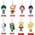 Nendoroid Plus My Hero Academia Trading Rubber Strap (Set of 8 pieces)
