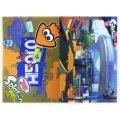 Splatoon Ikasu Lenticular Clear Folder 01: Urchin Underpass