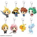 Final Fantasy Big Acrylic Keychain: Lightning