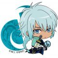 Tales of Destiny Bocchi-kun Acrylic Charm: Veigue Lungberg