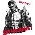 Fist Of The North Star Say My Name! T-shirt White (L Size)