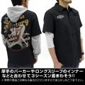 Infinite Stratos Houki Shinonono Full Color Work Shirt Nose Art Ver. Black (M Size)