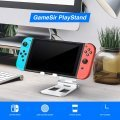 Playstand for Nintendo Switch (Silver)