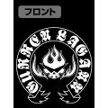 Tengen Toppa Gurren Lagann Team Gurren Black & White T-shirt Black (XL Size)