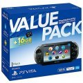 PlayStation Vita PCH-2000 Series 16GB Value Pack (Black)