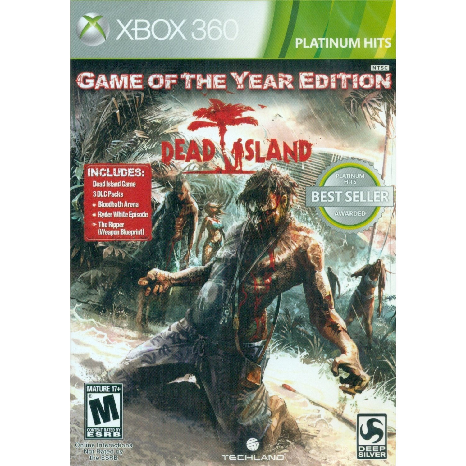 Edition Platinum: Dead Island (Game Of The Year Edition) (Platinum Hits
