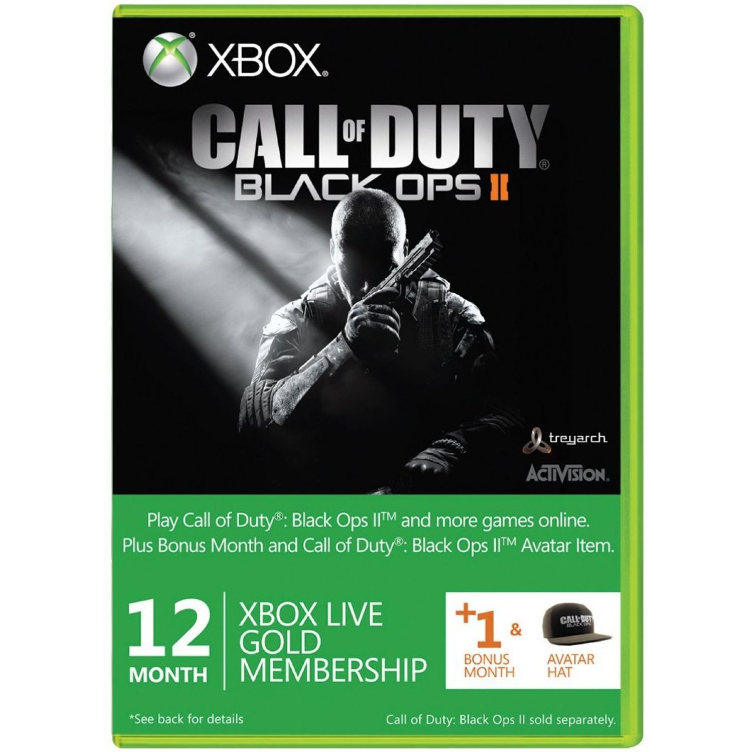Xbox One Call Of Duty Black Ops 2 Xbox Live 12-Month +1 ...