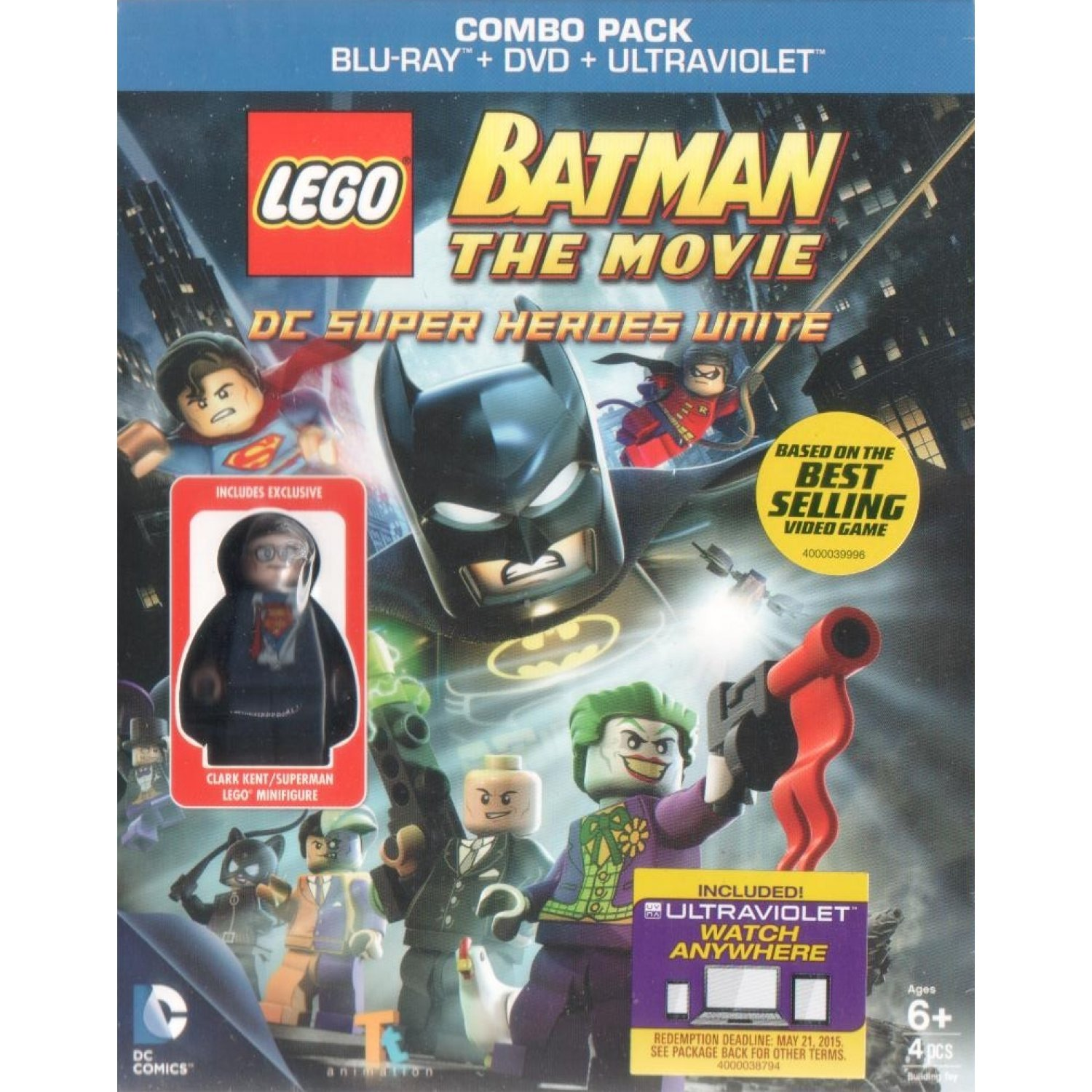 Lego batman the movie dc superheroes unite blu ray dvd - Super batman movie ...