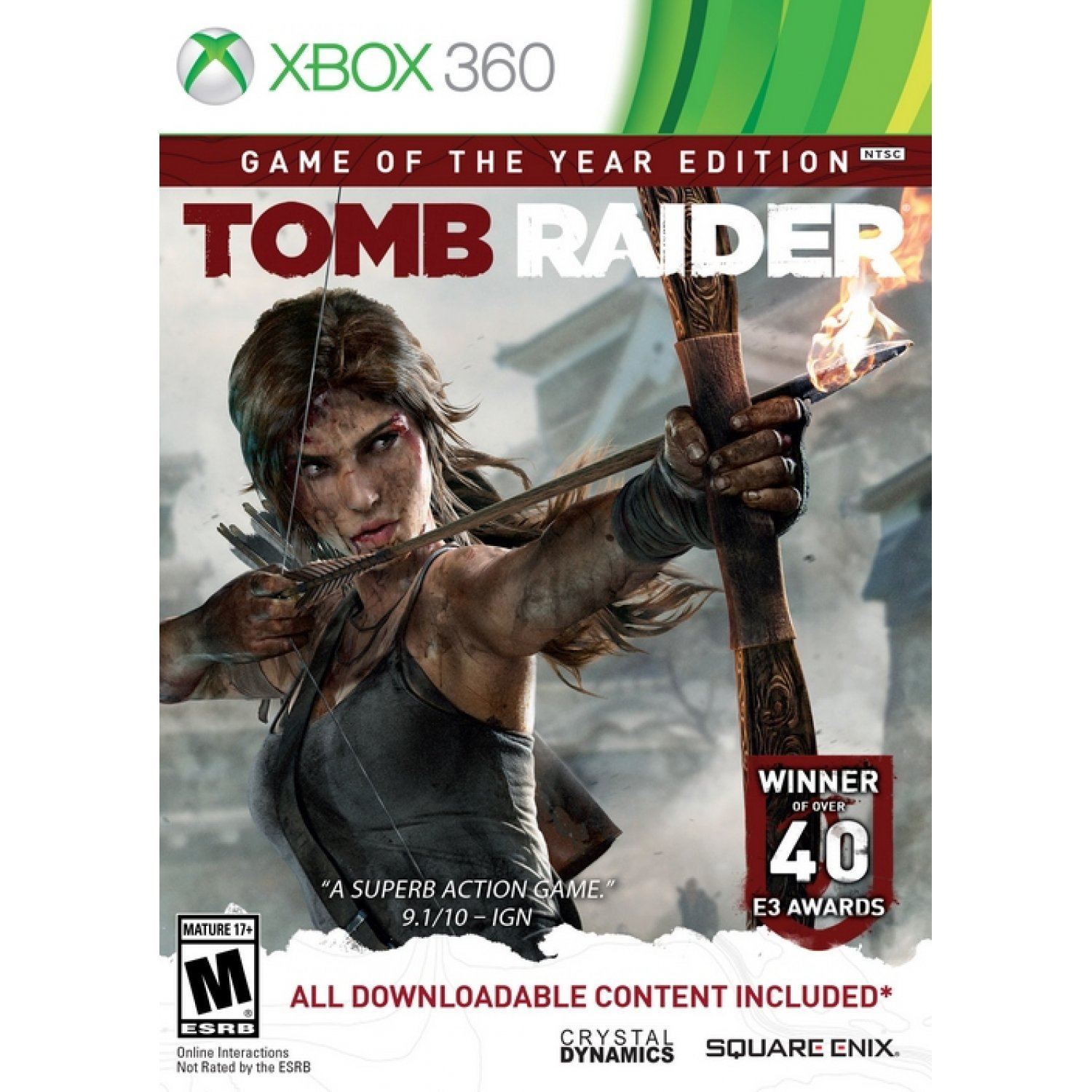 Tomb Raider Game: Tomb Raider: Game Of The Year Edition