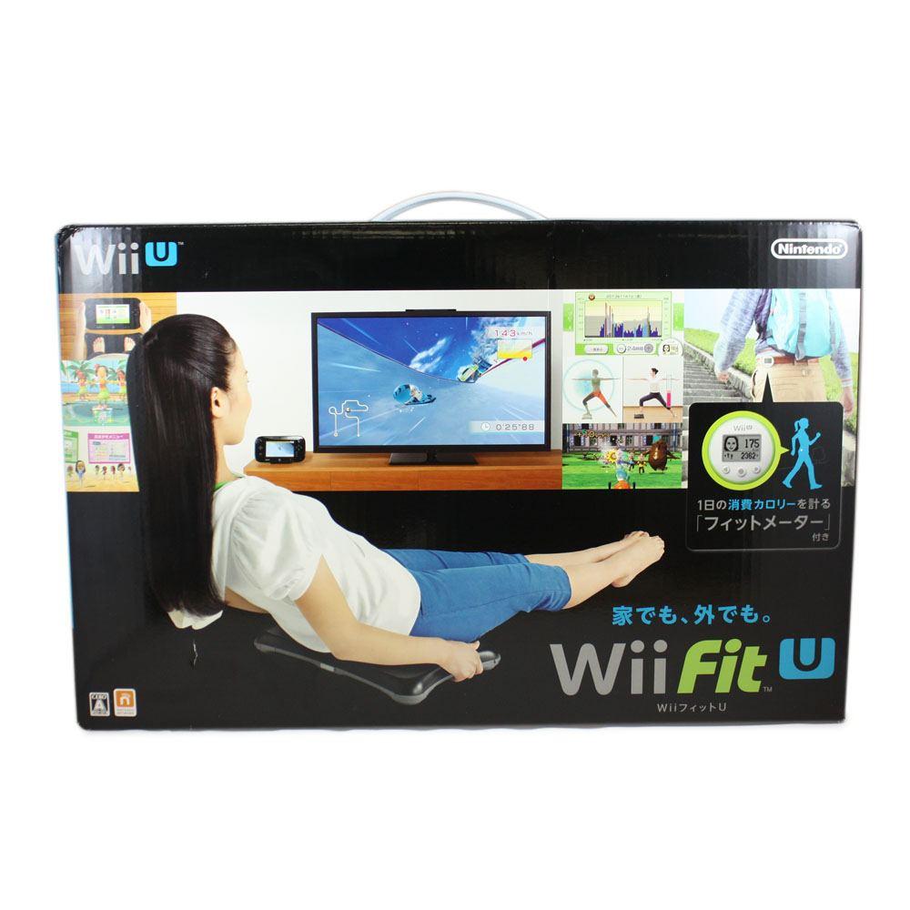 Wii Fit U Wii Balance Board + Fit Meter Set (Black & Green)