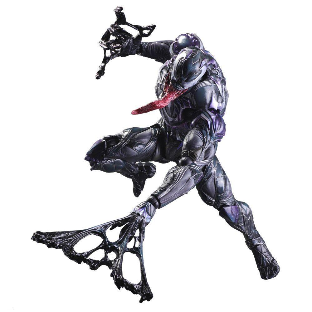Venom Game Toy : Marvel universe variant play arts kai spider man venom
